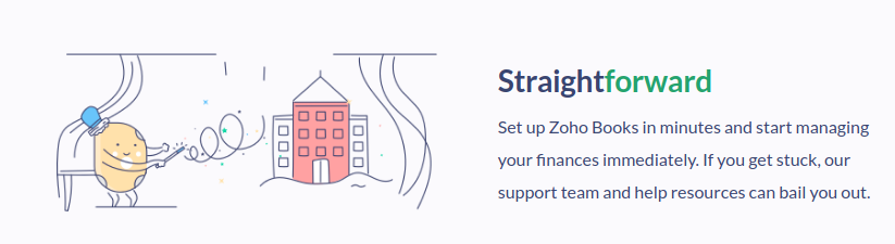 Straight Forward Zoho