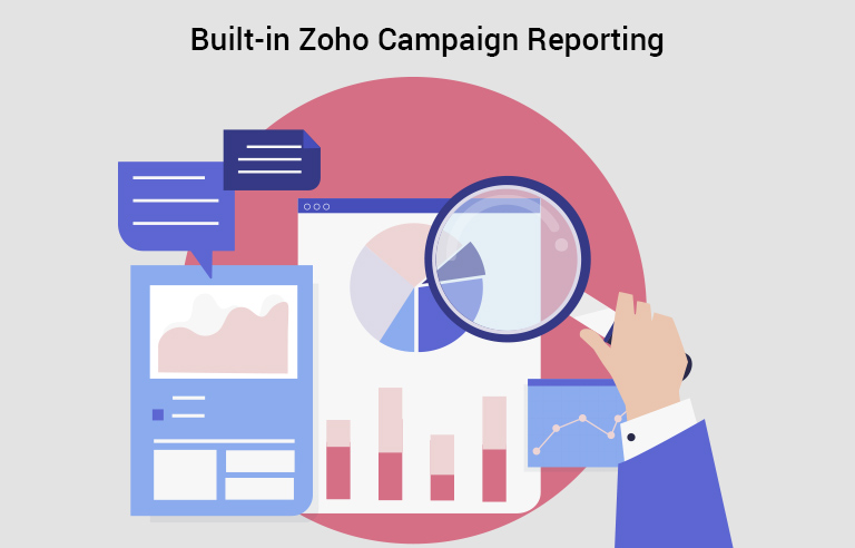Built in Zoho Campaign Report