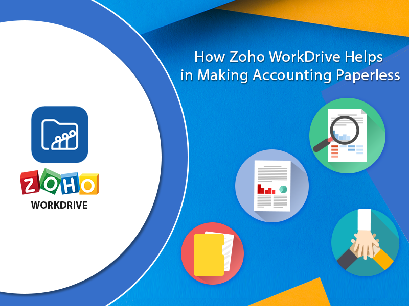 Zoho WorkDrive: Part 1 – Make Accounting Paperless | Get A Better CRM