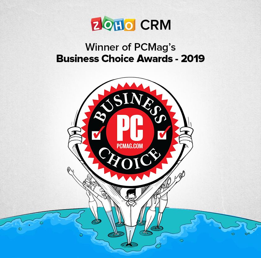 Zoho PC Mag Award
