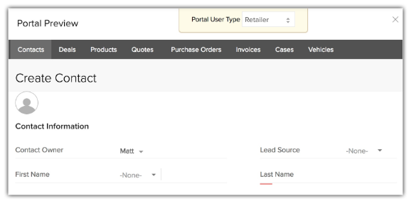 Set Up Portals in Zoho CRM for Your Vendors, Contacts, or Partners