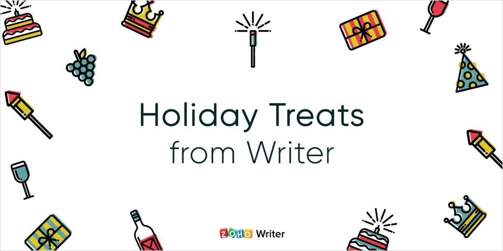 Zoho Holiday Treats