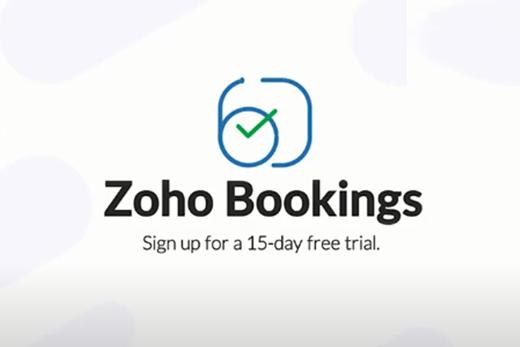Zoho Bookings