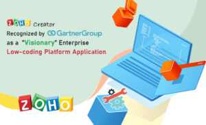 Zoho Creator Recognize by Gartner Group