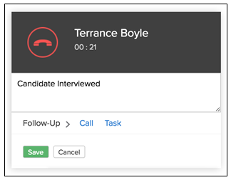 Integrating RingCentral with Zoho Recruit