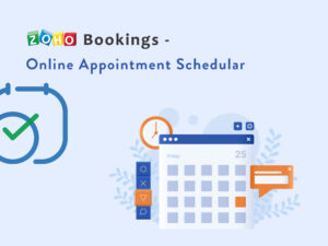 Zoho Bookings – Online Appointment Schedular