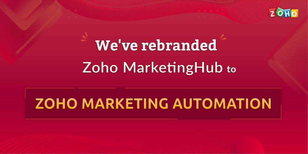 ZOHO Marketing Automation