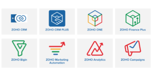 Updated ZOHO Product Pricing Details