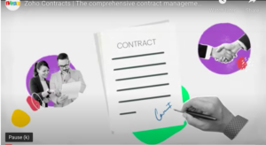 ZOHO Contracts CLM