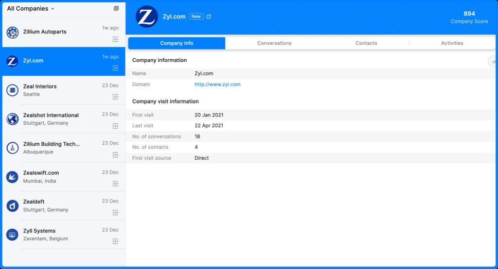Zoho Unveiled SalesIQ 2.0