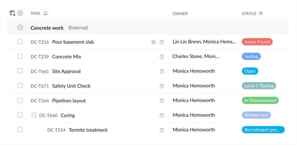 Task Management in Zoho Projects
