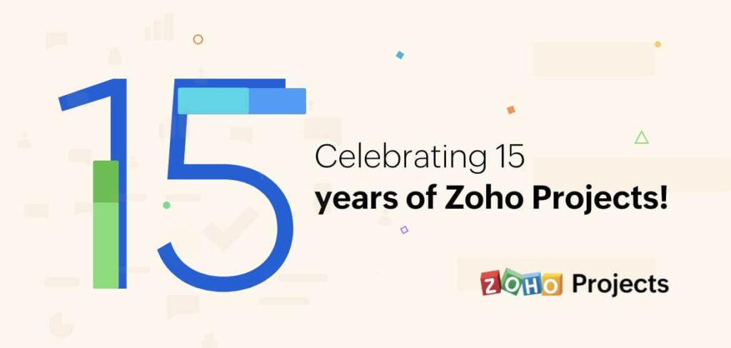 ZOHO Projects 15 years celebration