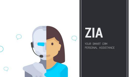 Zoho CRM Zia AI Assistant