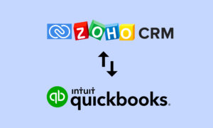 Zoho CRM and QuickBooks Integration Manage Sales and Accounting Seamlessly